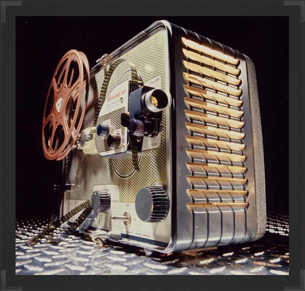 16-8mm Projector
